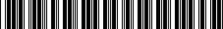 Barcode for 1K0051444B